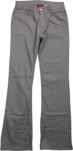 Antthony Mark Hankins Gray New Stretch Leg Boot Cut Pants grey