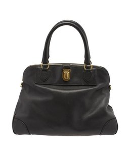 Marc Jacobs Whitney Dome Satchel in Black