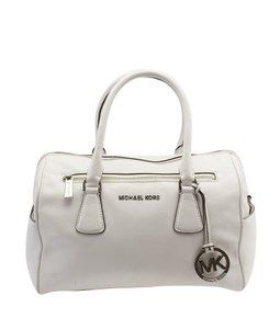 Michael Kors Sophie Satchel in White