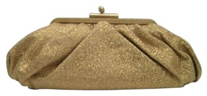 Chanel Classic Leather Gold Clutch