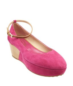 Tod's Tods Zeppa Gomma H 50 Rc Pink Platforms