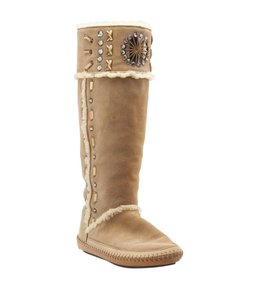Tory Burch Tan Suede Brown Boots
