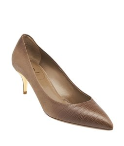 Saint Laurent Yves Clara 55 Brown Pumps