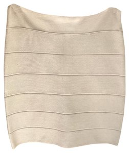 bebe Mini Skirt Cystal grey