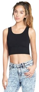 Nordstrom Crop Cropped Top Black