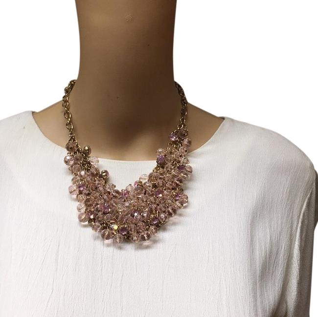 Item - Gold Pink Ave Necklace