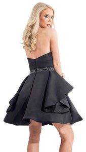 Rachel Allan Cocktail Homecoming Formal Scuba Dress