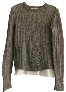 Inhabit Crew Wool Cable Knit Sweater
