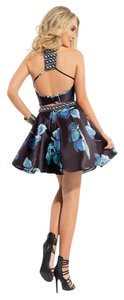 Rachel Allan Two Piece Homecoming Formal Cocktail Dress