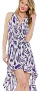 Purple Maxi Dress by Parker Printed Silk