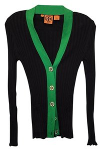 Tory Burch Black and Green Jacket