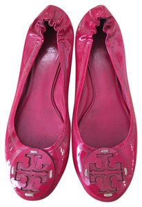 Tory Burch Patent Leather Pink Flats