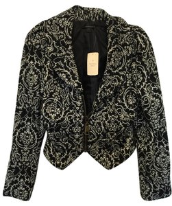 Forever 21 Black and White Blazer