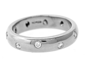 Tiffany & Co. Tiffany & Co. Platinum Diamond Etoile Stackable Wedding Band Ring