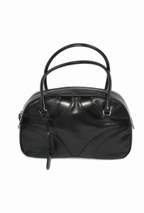 Prada Leather Vintage Satchel in Black