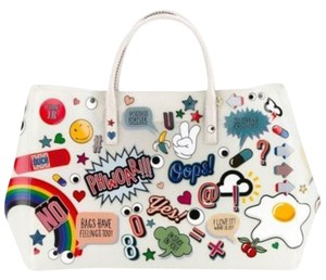 Anya Hindmarch Nwt New Tote in White Multi