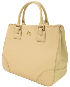 Tory Burch Sale New Tan Satchel in Toasted Wheat