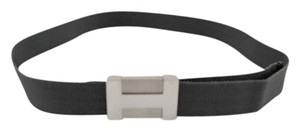 Hermès #8979 Rare Exceptionally H Silver belt Size 85