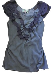 Yoana Baraschi Top lavender and mauve
