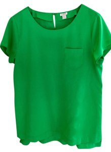 J.Crew Casual Weekend T Shirt Green