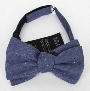 Gucci Blue W Wool Silk Periwinkle W/Colorful Dotted Pattern 388173 4500 Tie/Bowtie