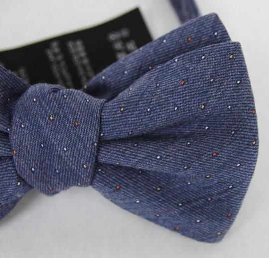 Gucci Blue W Wool Silk Periwinkle W/Colorful Dotted Pattern 388173 4500 Tie/Bowtie Image 2
