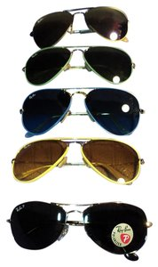 Ray-Ban Five pair of New! Ray-Ban Aviator Sunglasses to choose from