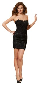 Paparazzi Cocktail Homecoming Strapless Formal Dress