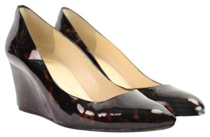 Christian Louboutin Patent Leather Wedges