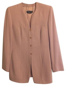 Giorgio Armani Vintage Rose Long Mid-length Pea Coat