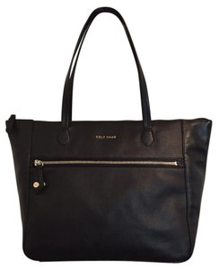Cole Haan Shoulder Tote in Black