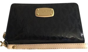 Michael Kors Jet Set Item Large Flat MF phone case Wristlet Wallet iphone NWT