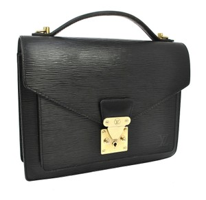 Louis Vuitton Satchel in Black