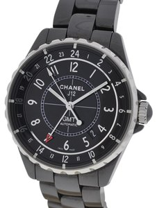 Chanel Chanel J12 GMT Black Ceramic Watch