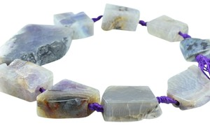 Other Agate Gemstone Beads Mix Size Strands Bead Necklace
