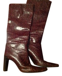 Via Spiga Burgundy Boots