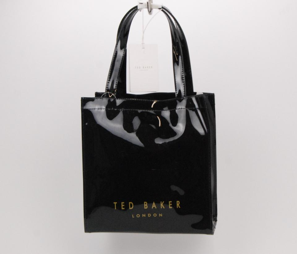 630058233aa Ted baker bow icon black plastic tote tradesy jpg 960x820 Plastic ted baker  tote