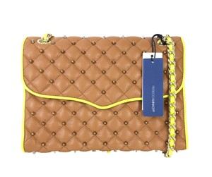 Rebecca Minkoff Studded Luxury High Street Two-tone Cross Body Bag
