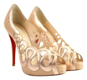 Christian Louboutin Strass Wedding Dress Fancy Pumps