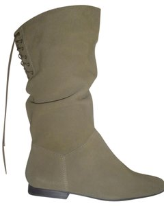 White Mountain olive, green Boots