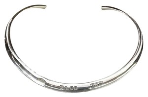 Tiffany & Co. Tiffany & Co 1837 Sterling Silver Bangle Necklace. Very Rare!! This Item Comes With A Complementary Tiffany Blue Color Polishing Cloth!!!!