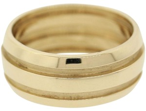 Tiffany & Co. Tiffany & Co. 18k Gold Atlas 9mm Row Groove Wedding Band Ring