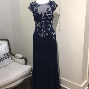 Teri Jon Navy Dress