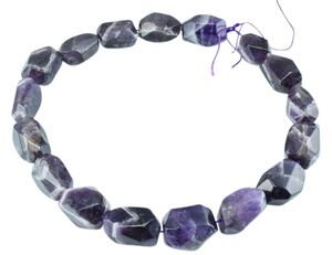 Other Amethyst Grunge Gemstone Choker Natural Beaded Necklace