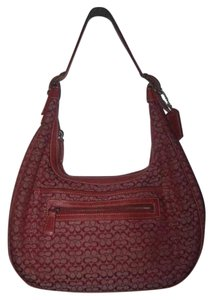 Coach Multiple Compartment Excellent Vintage Hobo/Shoulder Great Everyday Perfect Pop Of Color Hobo Bag