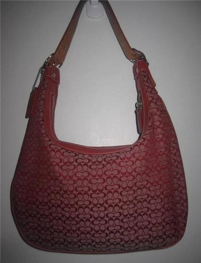 Coach Multiple Compartment Excellent Vintage Hobo/Shoulder Great Everyday Perfect Pop Of Color Hobo Bag Image 5
