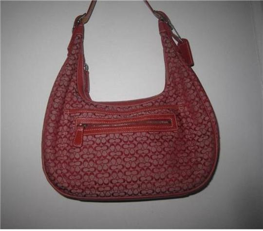 Coach Multiple Compartment Excellent Vintage Hobo/Shoulder Great Everyday Perfect Pop Of Color Hobo Bag Image 6