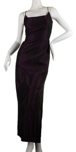 Nicole Miller Polyester Gown Dress