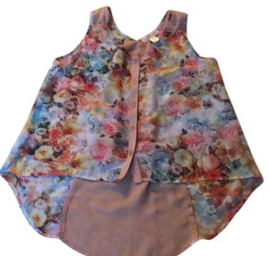 Band of Gypsies Top Floral