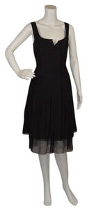 Max Mara Crushed Silk Dress